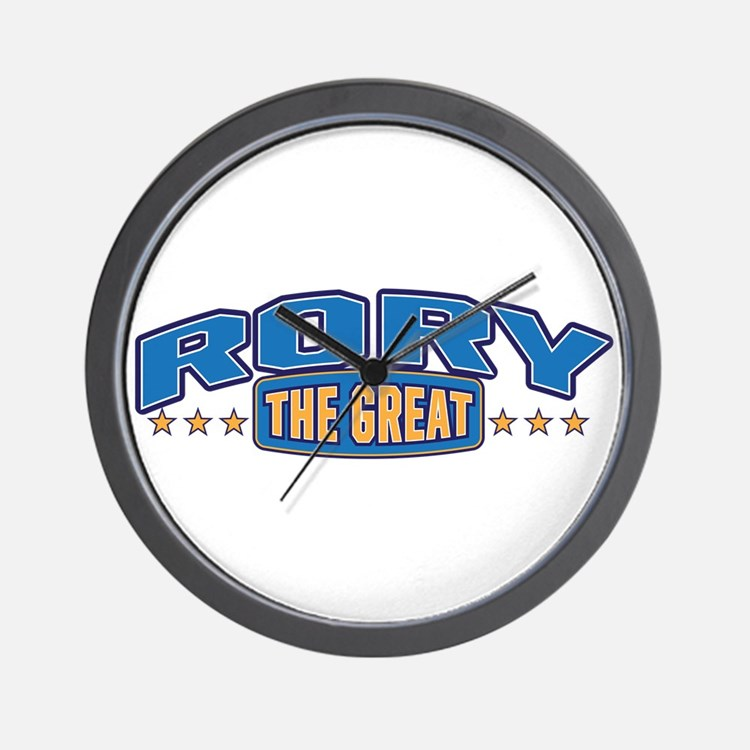 The Great Rory Wall Clock