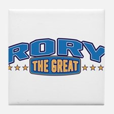 The Great Rory Tile Coaster