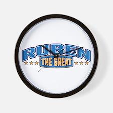 The Great Ruben Wall Clock