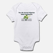 4th Annual Nigerian Email Con Infant Bodysuit