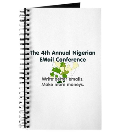 4th Annual Nigerian Email Con Journal
