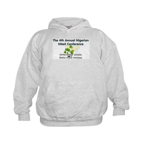 4th Annual Nigerian Email Con Kids Hoodie