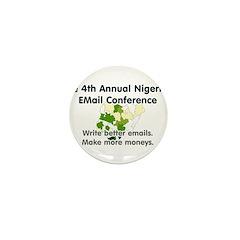 4th Annual Nigerian Email Con Mini Button (100 pac