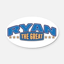 The Great Ryan Oval Car Magnet