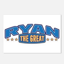 The Great Ryan Postcards (Package of 8)