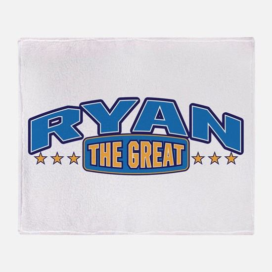 The Great Ryan Throw Blanket