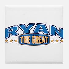 The Great Ryan Tile Coaster