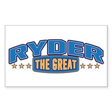 The Great Ryder Decal