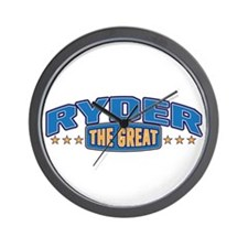 The Great Ryder Wall Clock