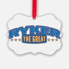 The Great Ryker Ornament