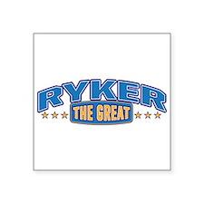The Great Ryker Sticker