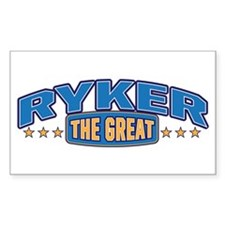 The Great Ryker Decal