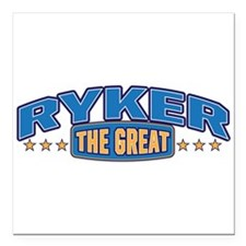 """The Great Ryker Square Car Magnet 3"""" x 3"""""""