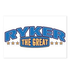 The Great Ryker Postcards (Package of 8)