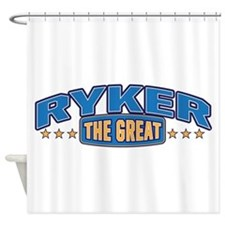 The Great Ryker Shower Curtain