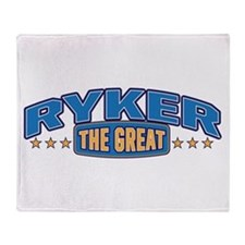 The Great Ryker Throw Blanket