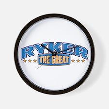 The Great Ryker Wall Clock