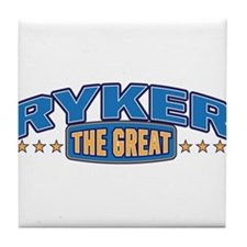 The Great Ryker Tile Coaster