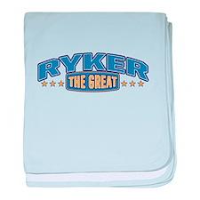 The Great Ryker baby blanket