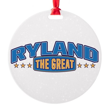 The Great Ryland Ornament