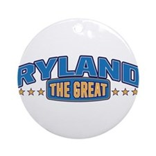 The Great Ryland Ornament (Round)