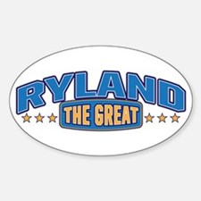 The Great Ryland Decal