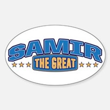 The Great Samir Decal