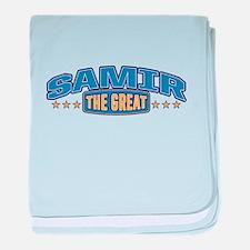 The Great Samir baby blanket