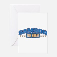 The Great Samson Greeting Card