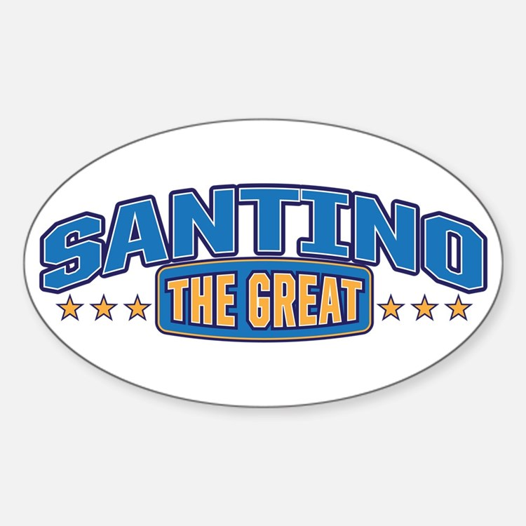 The Great Santino Decal