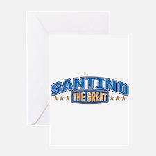 The Great Santino Greeting Card