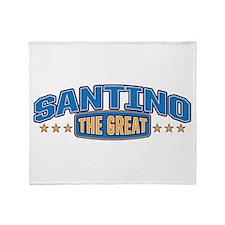 The Great Santino Throw Blanket