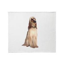 Afghan Hound #1 Throw Blanket