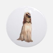 Afghan Hound #1 Ornament (Round)