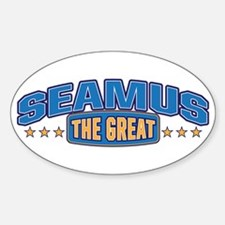 The Great Seamus Decal