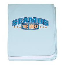 The Great Seamus baby blanket