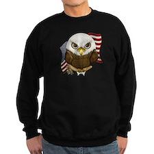 Cute Bald Eagle Sweatshirt