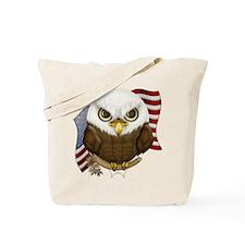 Cute Bald Eagle Tote Bag