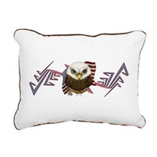 Cute Bald Eagle Rectangular Canvas Pillow