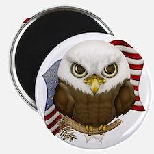 Cute Bald Eagle Magnet