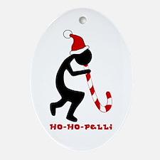 Ho-Ho-Pelli: Santa Hat + Candy Cane + Kokopelli