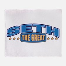 The Great Seth Throw Blanket