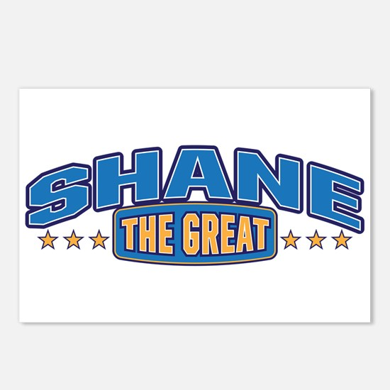 The Great Shane Postcards (Package of 8)