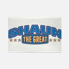The Great Shaun Rectangle Magnet