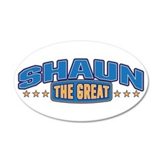 The Great Shaun Wall Decal