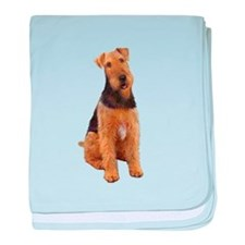 Airedale #1 - sit baby blanket