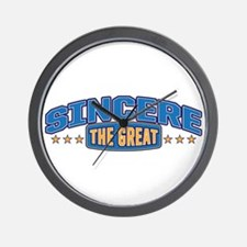 The Great Sincere Wall Clock