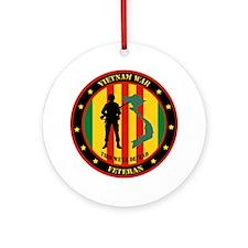 Vietnam War Veteran - This Well Defend Patch Ornam