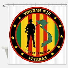 Vietnam War Veteran - This Well Defend Patch Showe