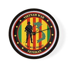 Vietnam War Veteran - This Well Defend Patch Wall